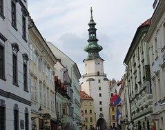 Братислава - средневековые Михайловские ворота